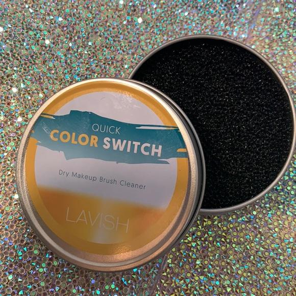 5/$25 LAVISH brushes quick color switch pan
